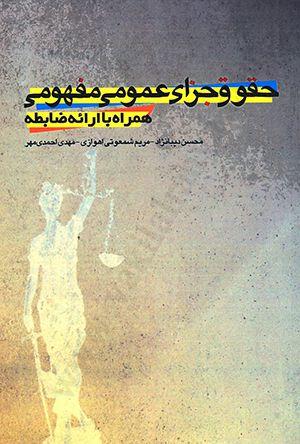 حقوق جزای عمومی مفهومی همراه با ارائه ضابطه
